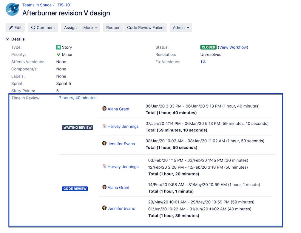 Enhancer Plugin for Jira - Duration Custom Field
